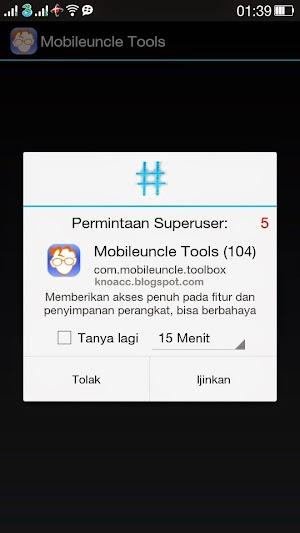 Akses Super User Mobile Uncle