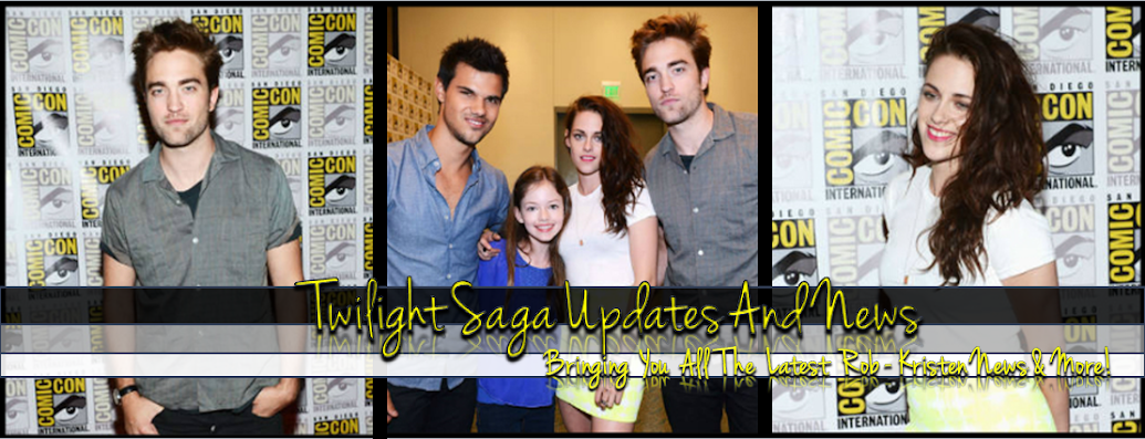 Twilight Saga Updates&News
