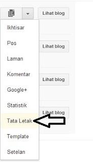 Cara Menambahkan dan Mengatur Gadget / Widget di Blogger