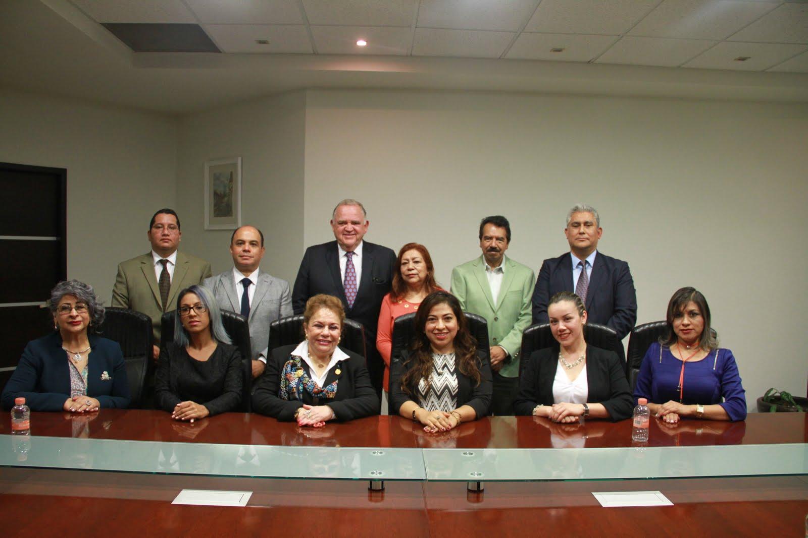 Encuentro del Magistrado Presidente del Tribunal Superior de Justicia, Edel Humberto Álvarez Peña,