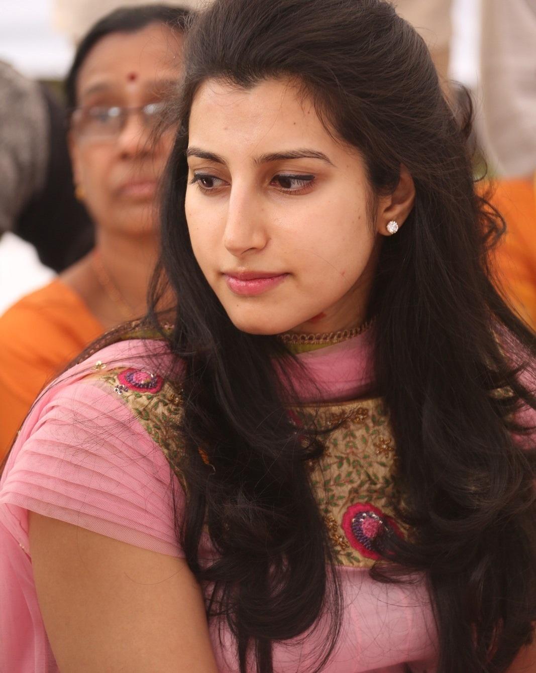 Balakrishna Daughter Brahmani Latest Photos In Pink Dress