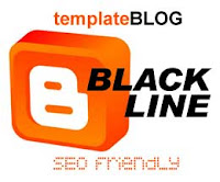Template Blog Black Line SEO Friendly