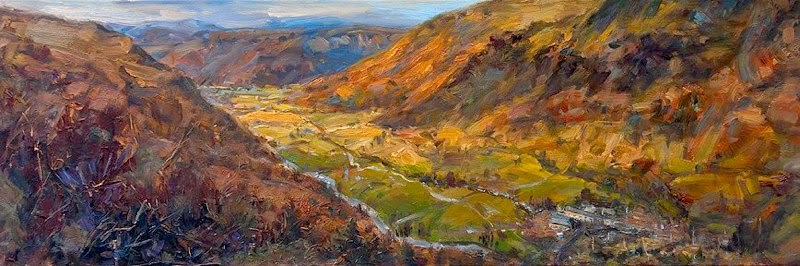 """Sour Milk Gill"" Oil Painting by James Swanson"