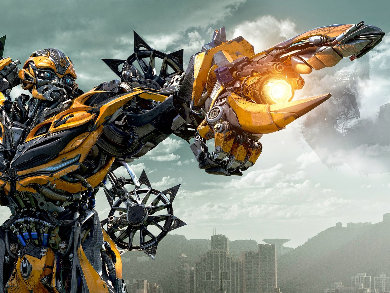 Foto Bumblebee Transformers 4 Ages of Extinction Autobots