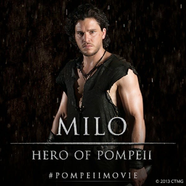 Pompeii Kit Harington Jon Snow Game of Thrones