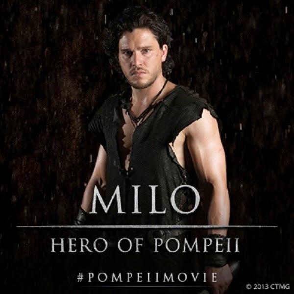 Pompeii Kit Harington Jon Snow Game of Thrones