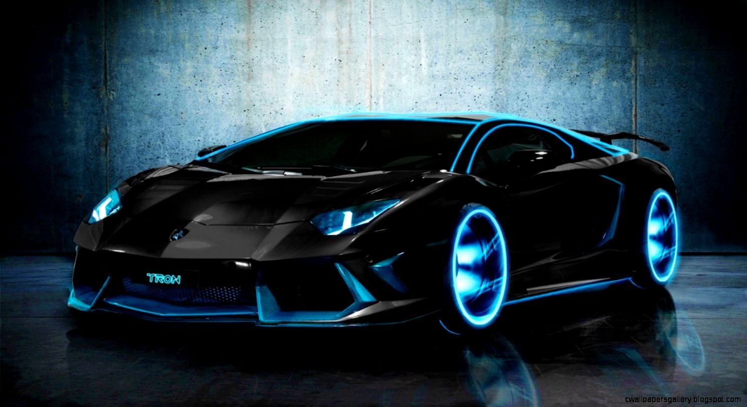 TRON Lamborghini Aventador Wallpapers  HD Wallpapers
