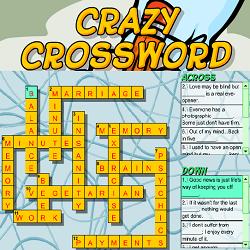Crazy Crossword Puzzle