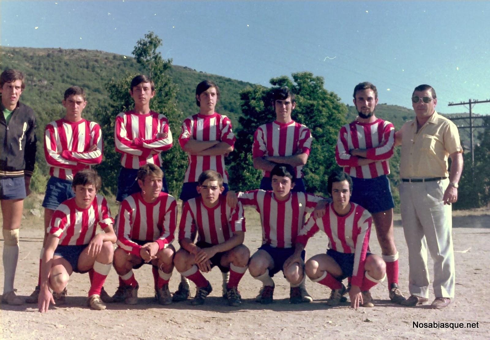 equipo de futbol de veraneantes de Candelario Salamanca