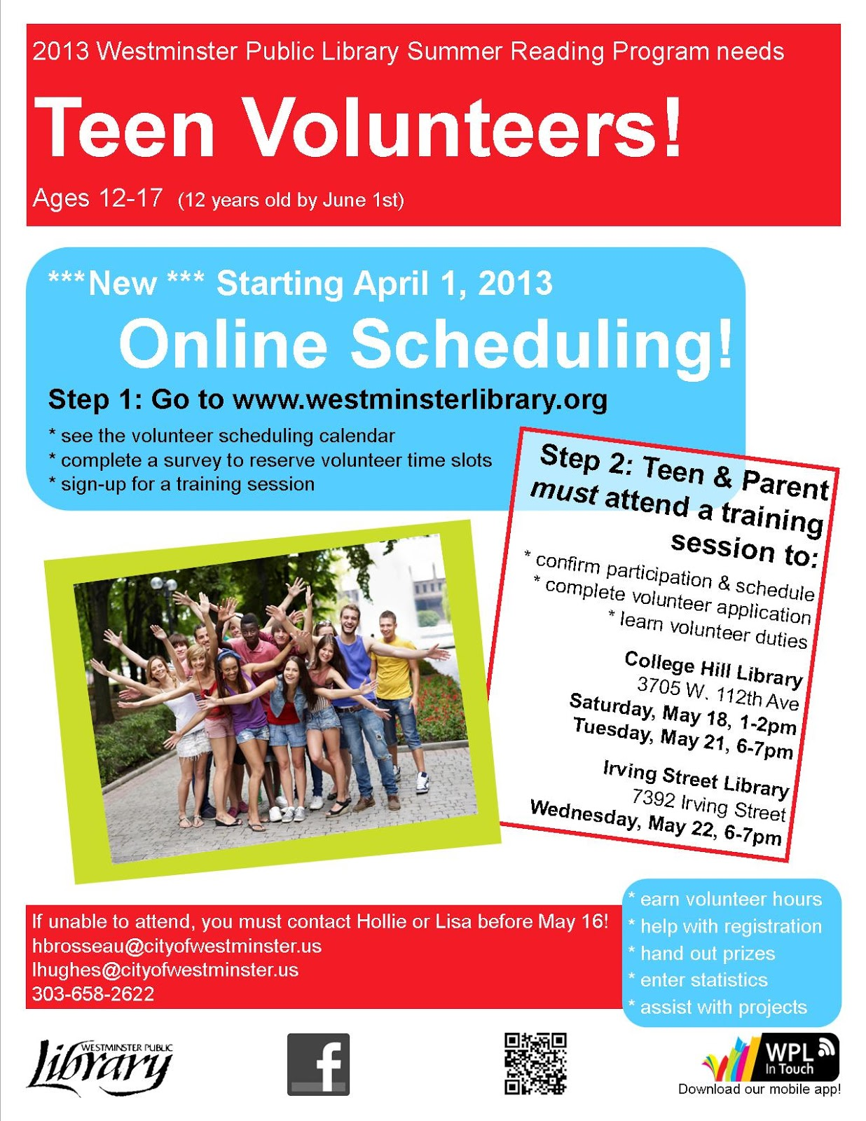 teen underground online scheduling for teen summer reading online scheduling for teen summer reading program volunteers starts today