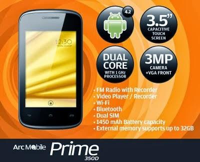 Arc Mobile PRIME 350D