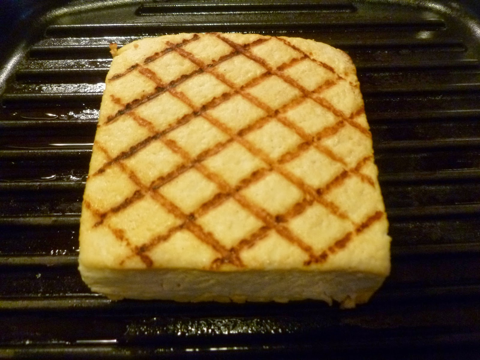 Grilled tofu sandwich filling - Cook and Post