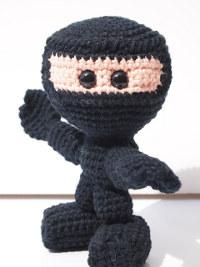 2000 Free Amigurumi Patterns: Ninja free pattern