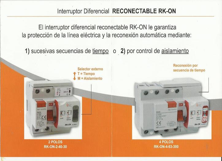 Electricista autorizado 24 horas y festivos sevilla for Diferencial rearme automatico