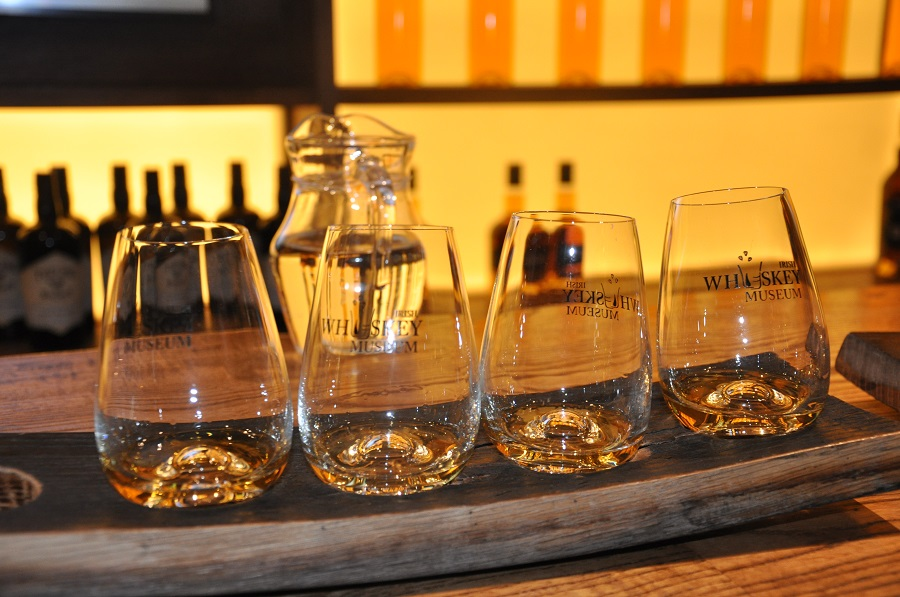 Tasting Whiskey in Ireland