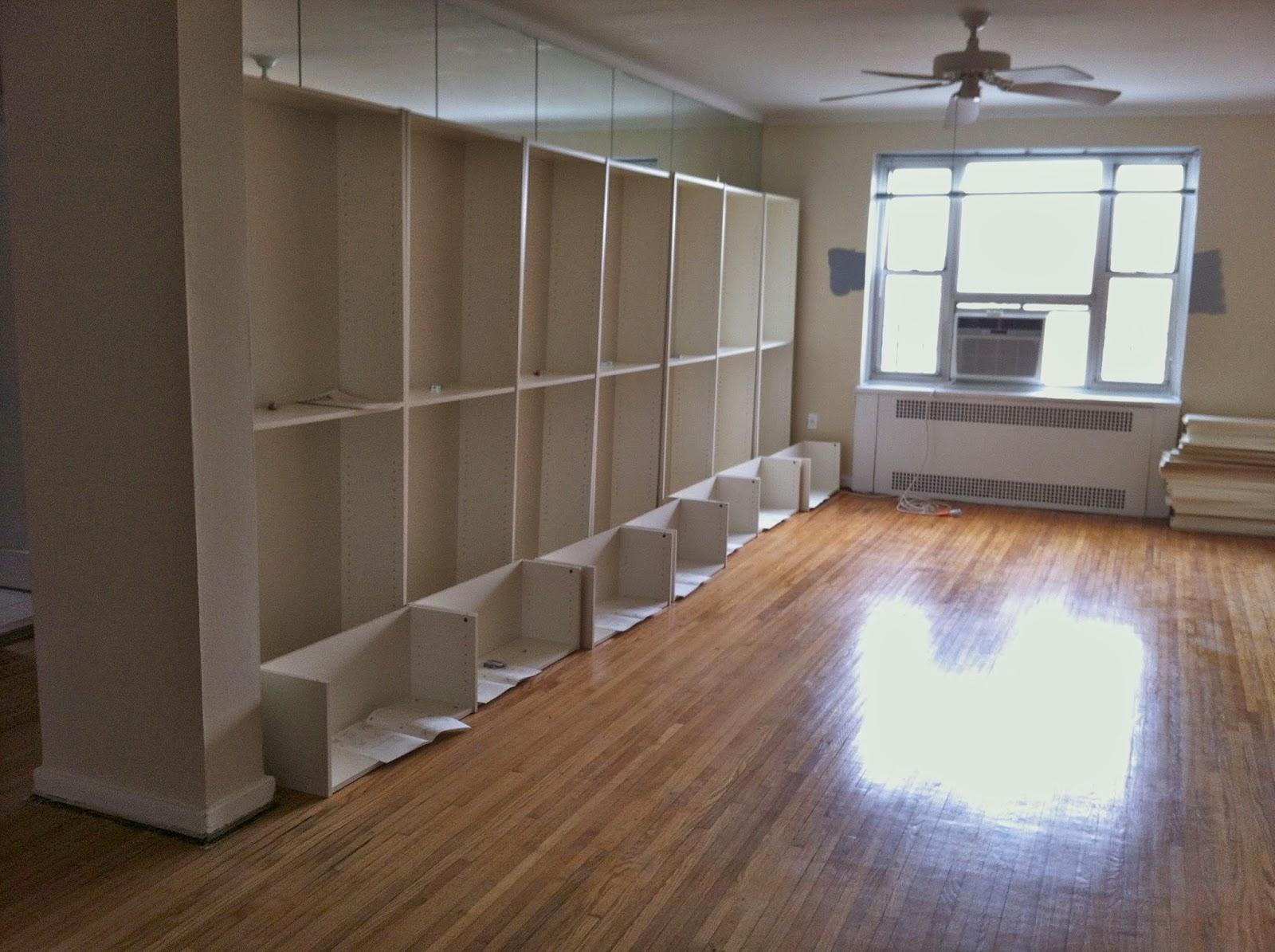 Bookcases Progress Jpg