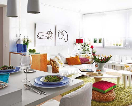 Un appartamento di 40 mq arredamento facile for Decorating ideas for small spaces apartments