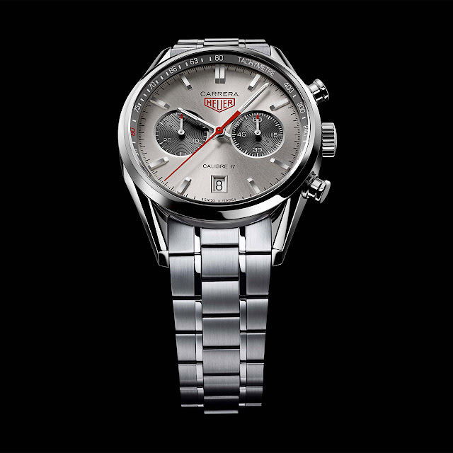 Tag Heuer - Carrera Calibre17 steel