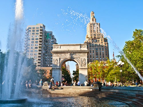 Parque Washington Square Park em New York