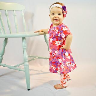 A line baby dress pattern