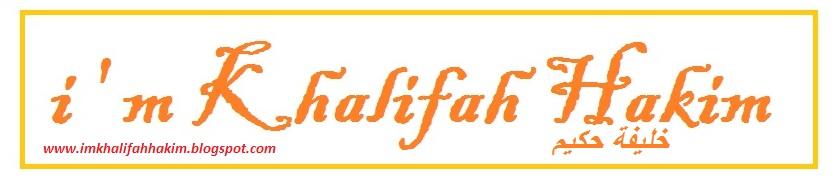 i m Khalifah Hakim \(^_^)/