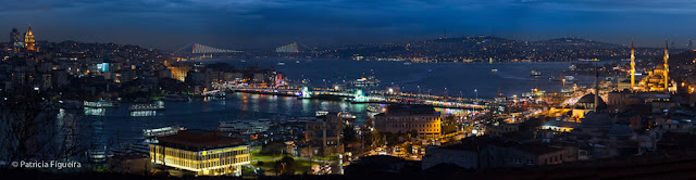 Panorama of the Golden Horn
