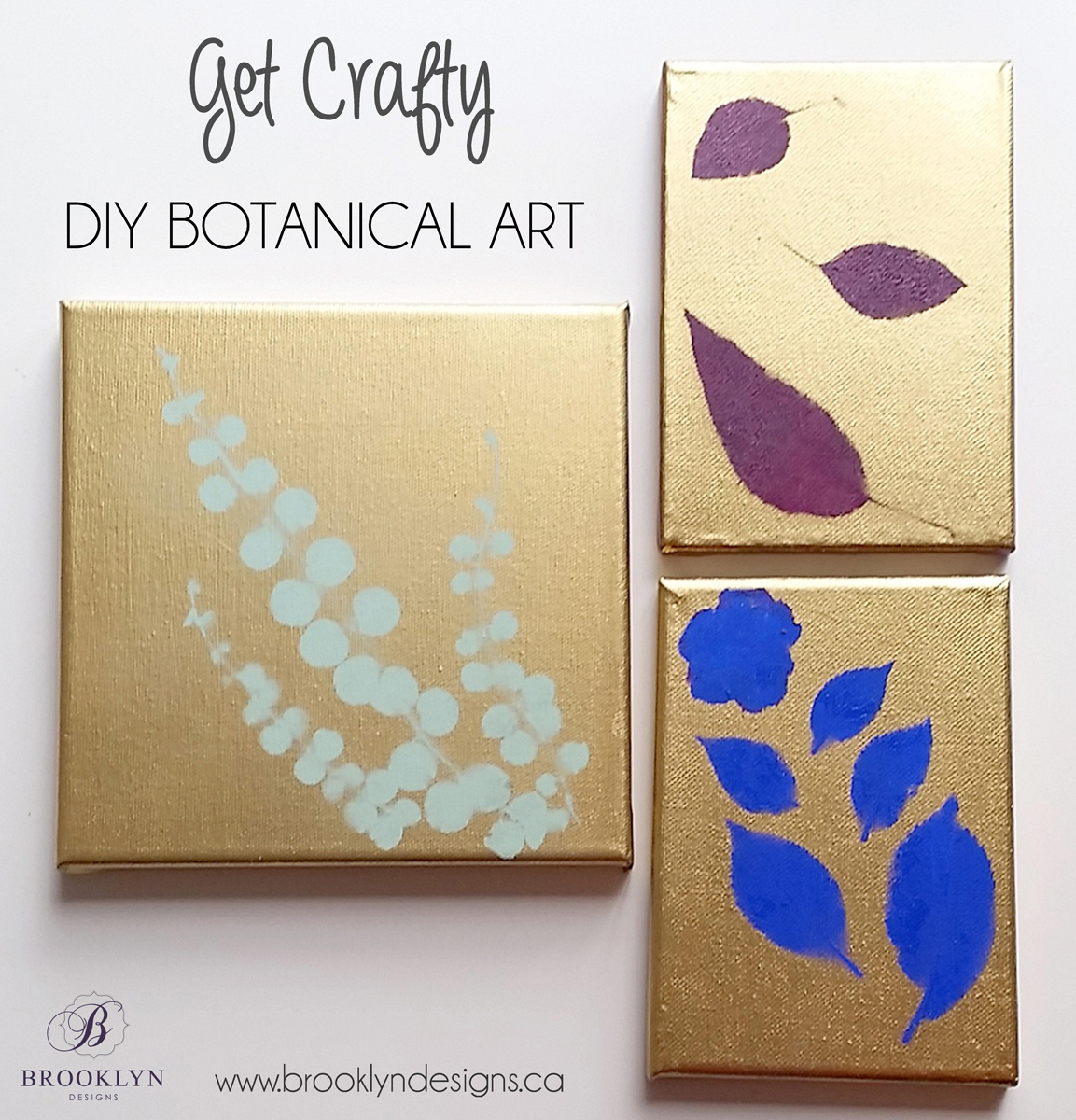 GET CRAFTY: DIY Botanical Wall Art - Brooklyn Designs