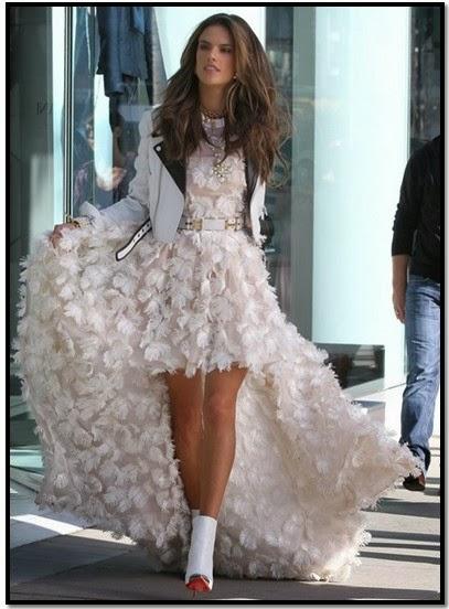 alexandra ambrosio vestido chanel