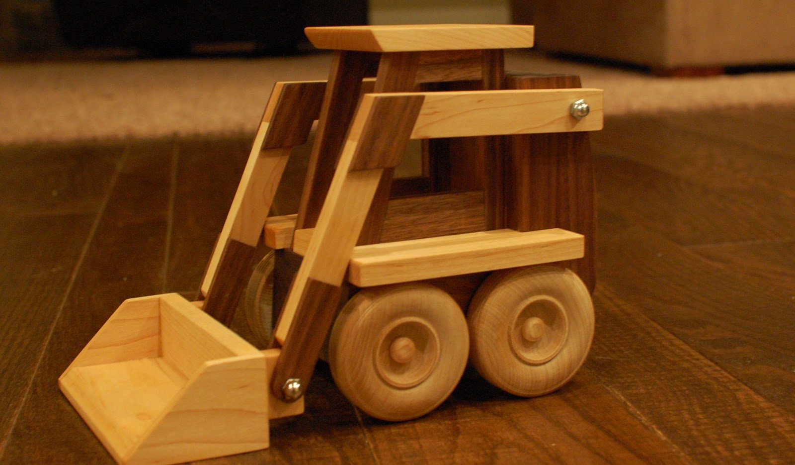Chad's Workshop: Toy Wooden Skid Loader