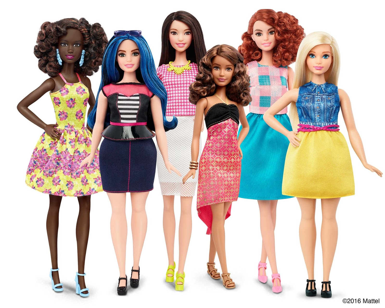 Barbie has a new body: curvy tall and petite Barbie on Fashion and Cookies fashion blog, fashion blogger