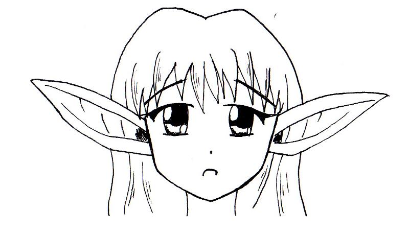 Tutoriel dessin elfe - Dessiner un elfe ...