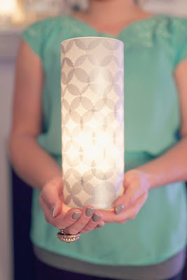 Mrs peabod a designers inspiration board diy tissue for Homemade luminaries