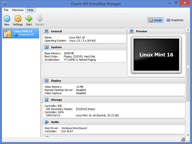 Виртуал бокс для линукс скачать
