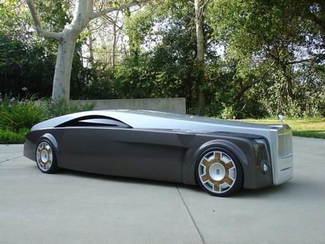 Damn Cool Cars Rolls Royce Apparition Concept