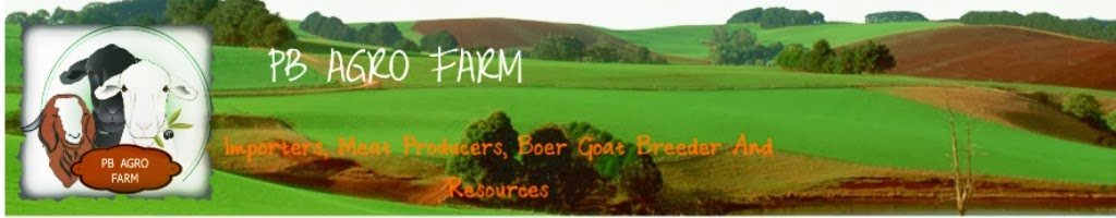 PB Agro Farm.Importers, Meat Producers, Boer Goat Breeder And Resources