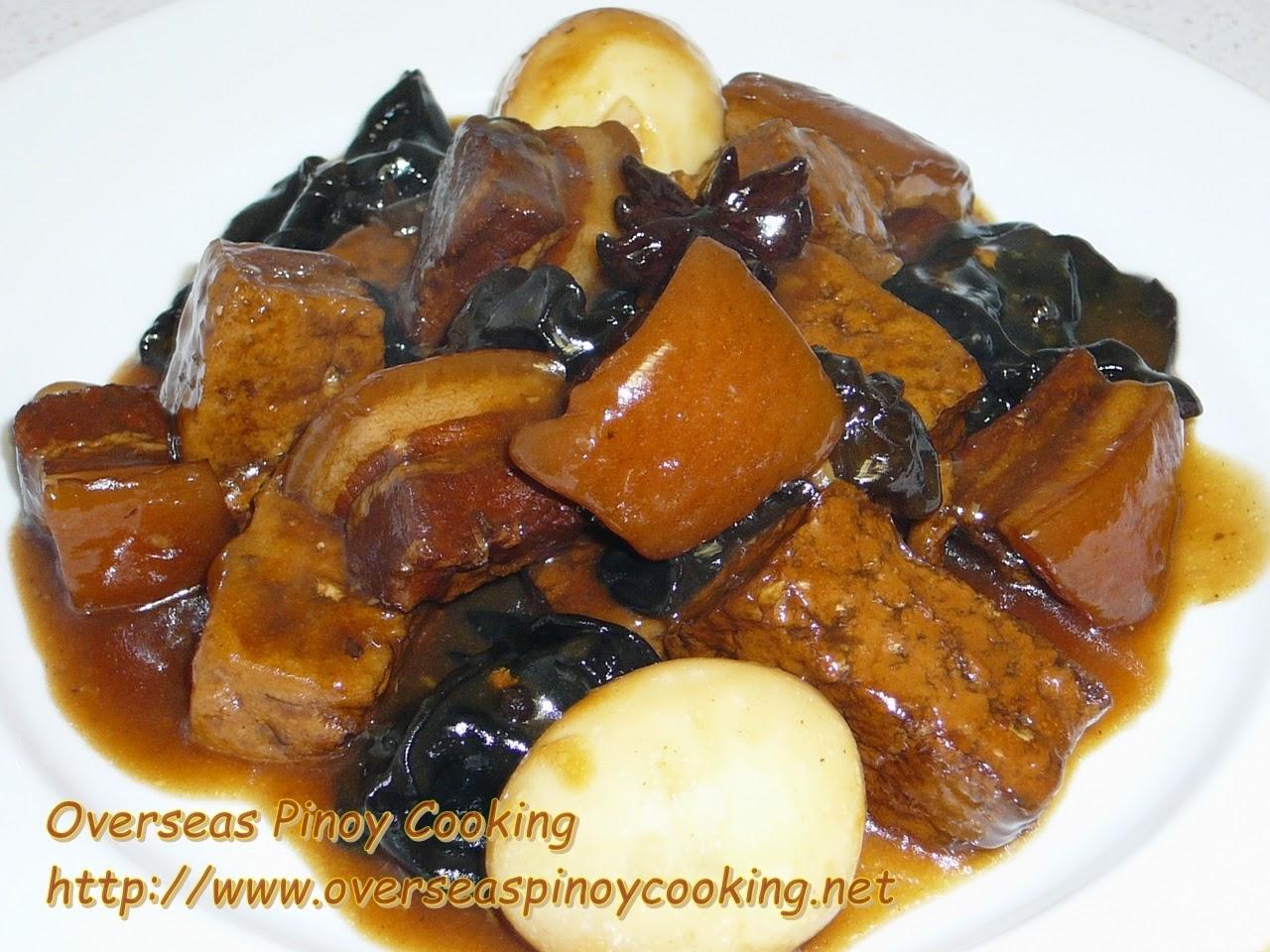 Braised Pork and Tofu with Tenga'n Daga