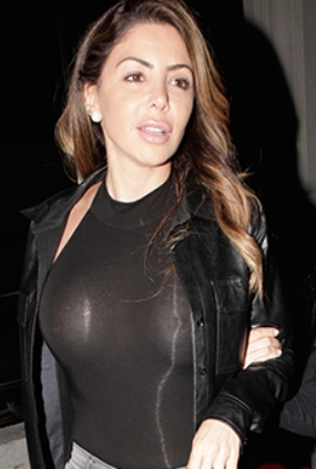 Wife in see through clothes
