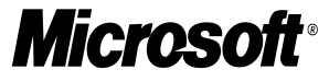 Microsoft's logo with a split at O and S