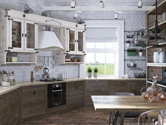 Projects una cocina industrial campestre virlova style - Campana cocina industrial ...
