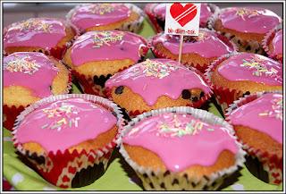 Frambuazlı Cupcake tarifi-bir dilim aşk