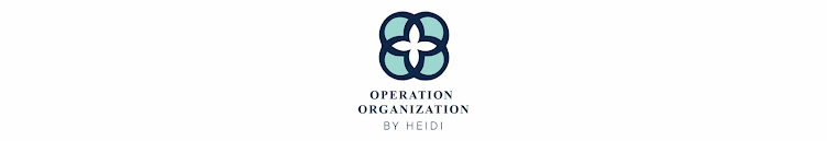 Operation Organization by Heidi : Professional Organizer Peachtree City, Marietta, Fayette + Cobb