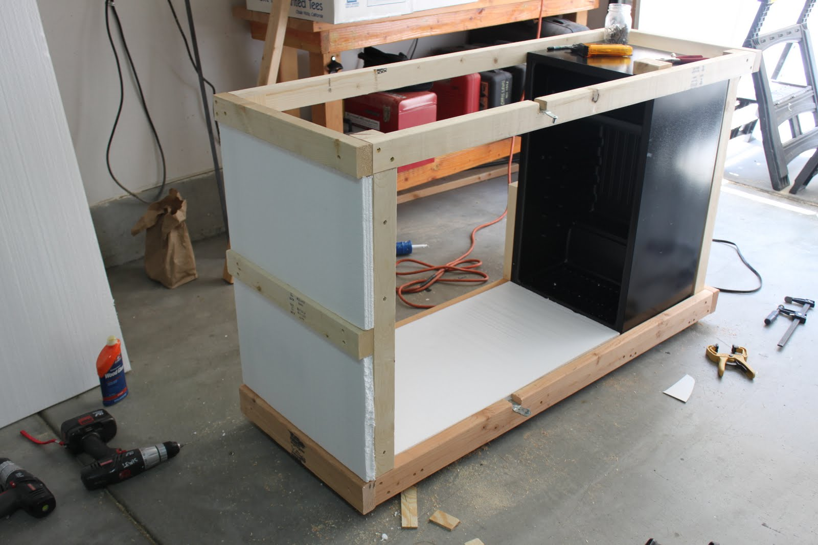 Lewybrewing: Fermentation Chamber Build