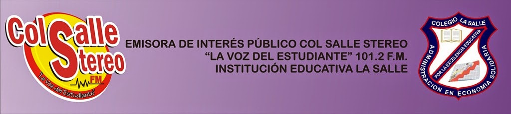 "Emisora Col Salle Estéreo ""La Voz del Estudiante"" 101.2 FM"
