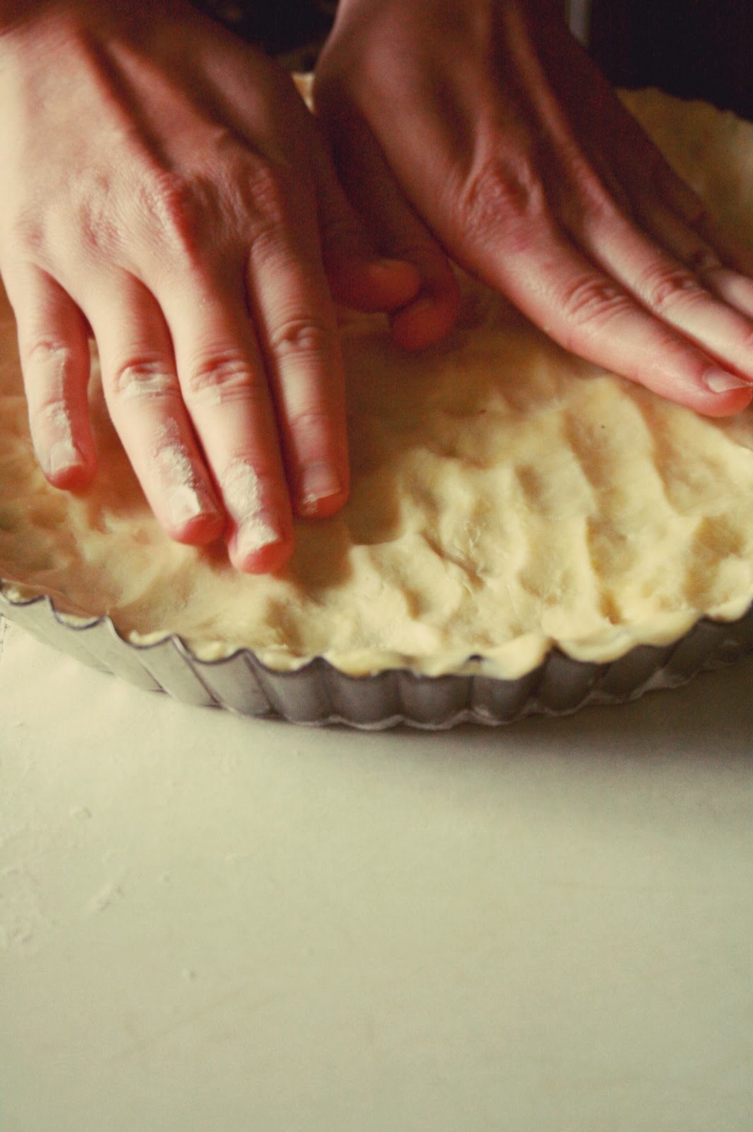 Actually, making filling for the pie was my favorite part:) See why: