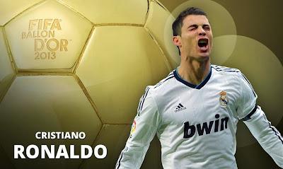 FIFA BALLON D'OR 2013 CRISTIANO RONALDO !