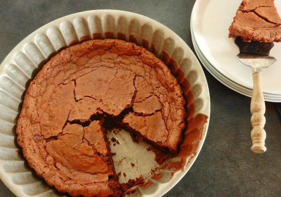 Gateau chocolat sans gluten farine de sarrasin