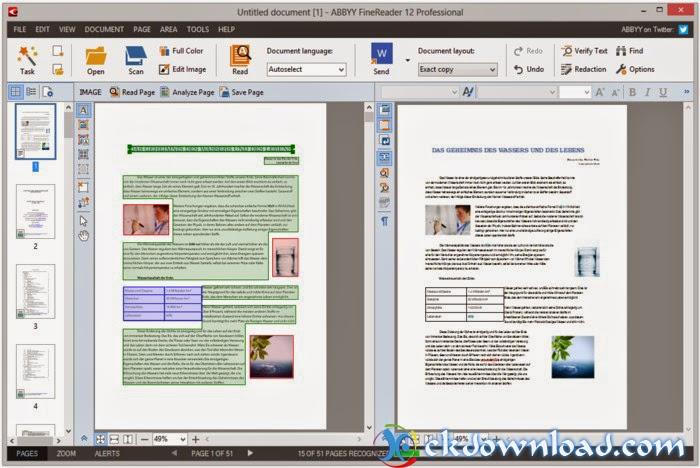ABBYY FineReader 12 Full - Chuyển đổi hình ảnh, PDF sang văn bản
