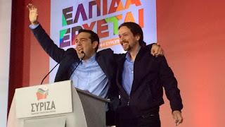 Podemos se alinea con Tsipras y su 'no' a la propuesta de la troika