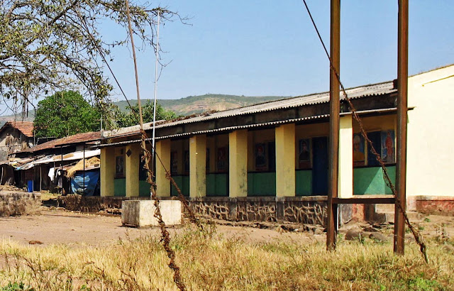 school building rural India