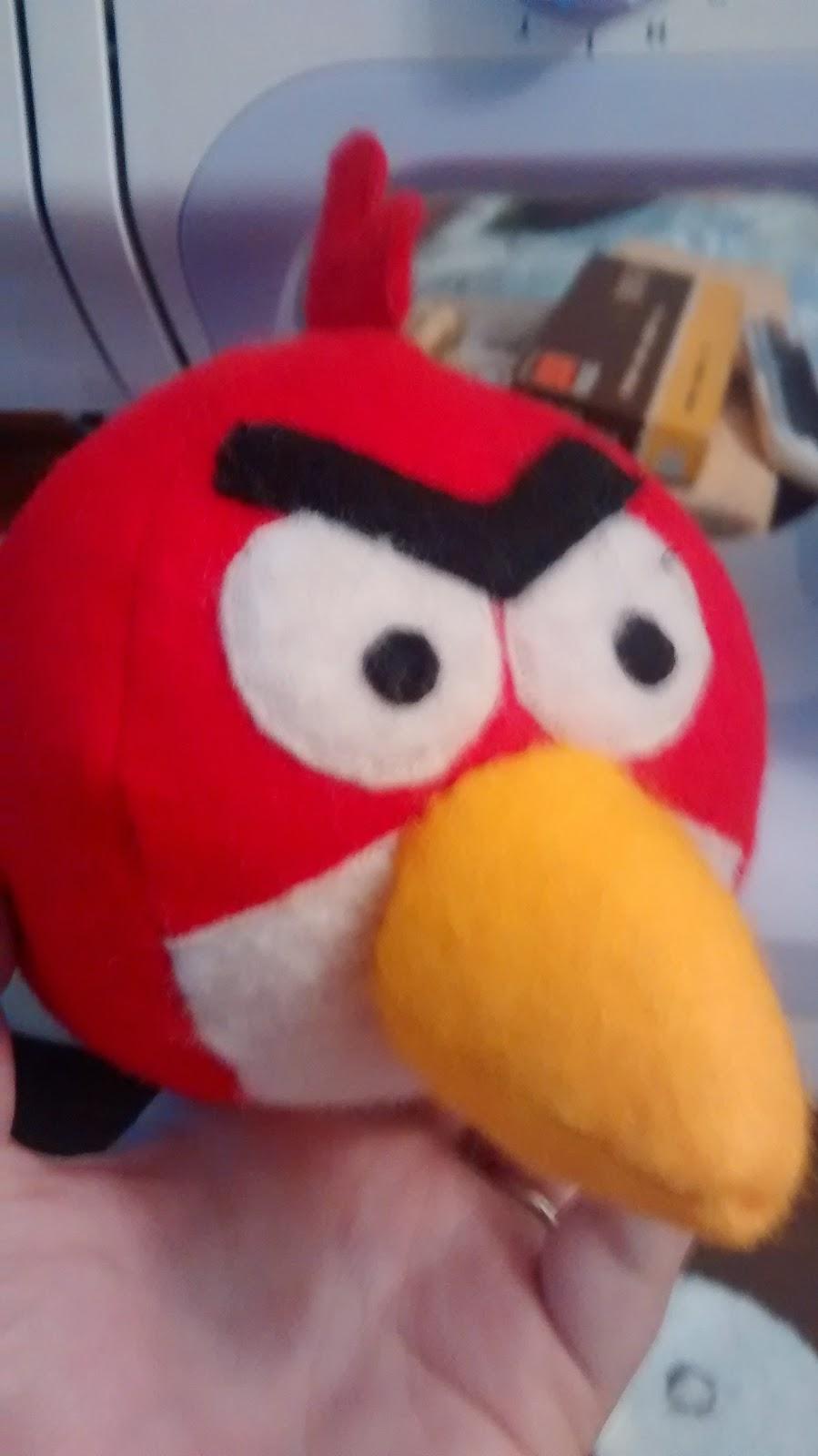 angry birds de fieltro
